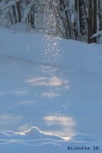 lumihiukkaset